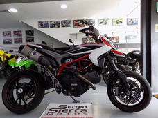 Ducati Hypermotard821sp Blanca 2014