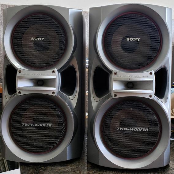 Par De Caixas Sony Acústica Ss-dx9