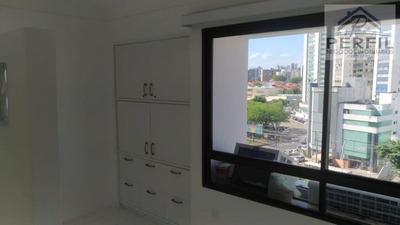 Sala Comercial Para Locação Em Salvador, Pituba, 1 Dormitório, 1 Suíte, 1 Banheiro, 1 Vaga - 616