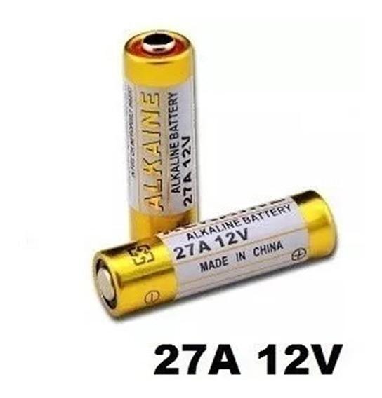 5 Pilha 27a Para Controle Remoto Copiador Clone Clonador 27a