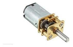 Motor N20 3-12vdc Alto Torque Escolha Rpm