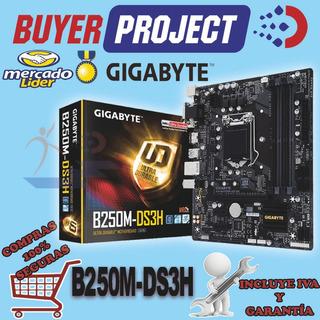 Mainboard Gigabyte B250m-ds3h Lga1151 Ddr4 Hdmi Vga 7ma Gen