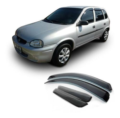 Defletor De Chuva Gm Corsa 1994 A 2001 Calha 4 Portas