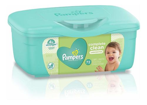 Imagen 1 de 1 de Toallitas Pampers 72 Rn Unscented  Box - Bebes Y Niños