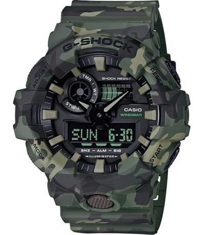 Relógio Casio G-shock - Ga-700cm-3adr - Ótica Prigol