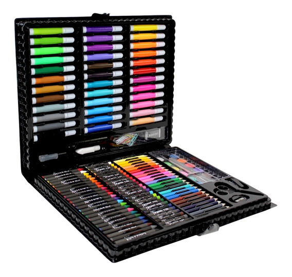 Set Lápices Colores Plastic Glowup R2829