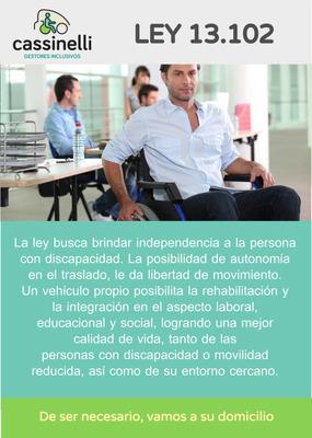 Gestoria Inclusiva Ley 13.102 Discapacidad