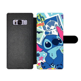 d0deecc39b9 Gspstore Samsung Galaxy S8-plus Wallet Funda,lilo&stitch Dis