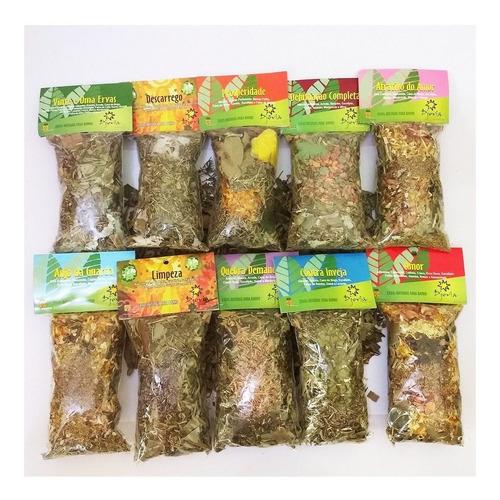 Ervas Naturais Para Banhos - Escolha Seu Aroma!