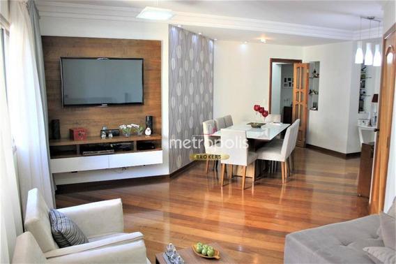 Apartamento Com 3 Dormitórios À Venda, 154 M² Por R$ 850.000 - Cerâmica - São Caetano Do Sul/sp - Ap2694