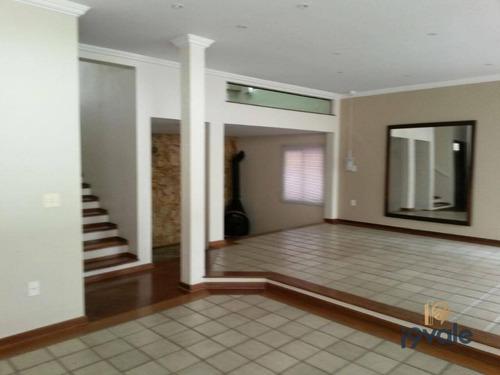 Casa Com 4 Dormitórios À Venda, 317 M² Por R$ 954.000 - Jardim Esplanada - São José Dos Campos/sp - Ca1517
