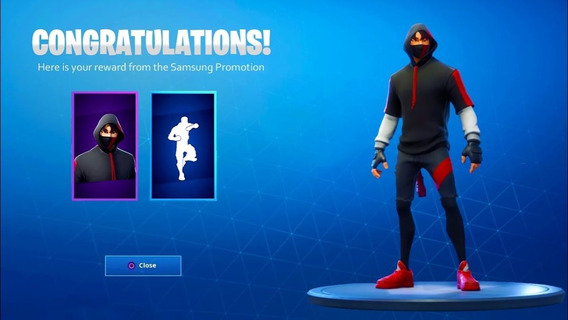 Skin Ikonik+honor Guard