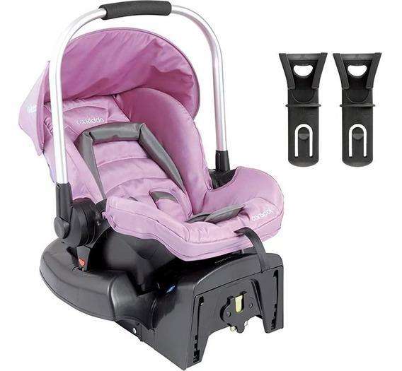 Bebê Conforto Kiddo Caracol Com Base - Rosa - Grupo 0+: Até