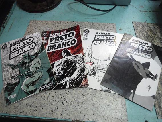 Quadrinhos - Mini Série Batman Preto E Branco - Completa
