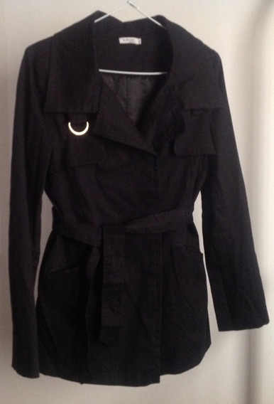 Casaco Trench Coat Feminino M Officer Tam P