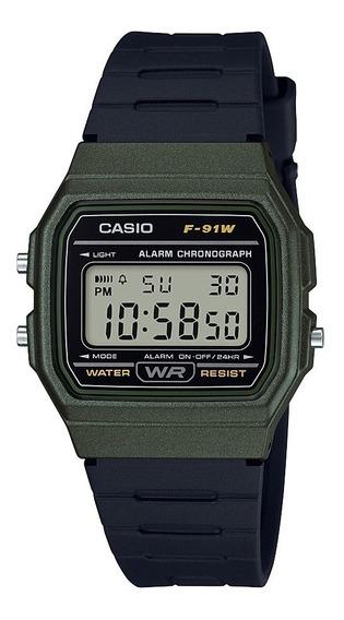 Reloj Casio F-91wm-3a Hombre Envio Gratis