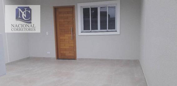 Sobrado Com 2 Dormitórios À Venda, 50 M² Por R$ 299.000 - Jardim Das Maravilhas - Santo André/sp - So3150