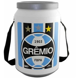 Caixa Cooler Térmico Grêmio 24 Latas 350ml Pro Tork Com Alça