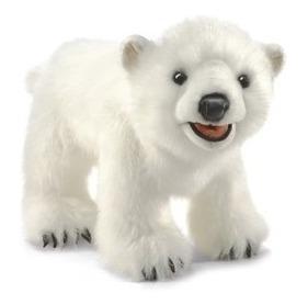 Fantoche Urso Polar Importado Folkmanis
