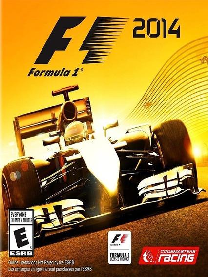 F1 2014 Pc - Steam Key (envio Flash)