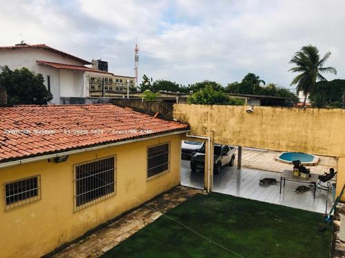 Casa Para Venda Em Natal, Neópolis - Casa Em Via Pública - Rua Rianópolis, 6 Dormitórios, 4 Suítes, 6 Banheiros, 4 Vagas - Cas1497-n_2-1071211