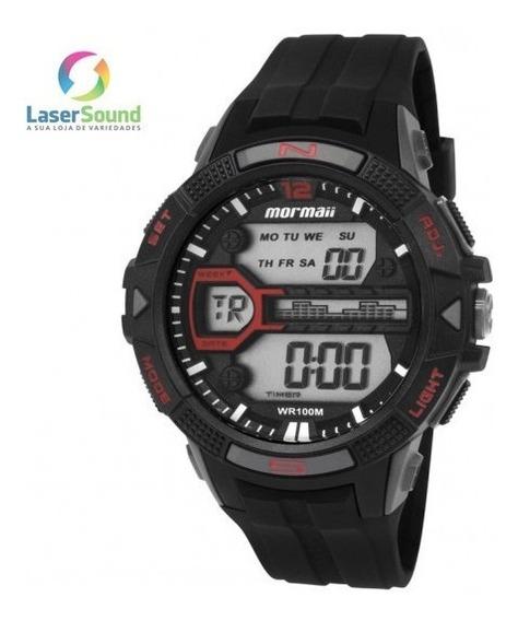 Relógio Mormaii Masculino Mo5000/8p, C/ Garantia E Nf