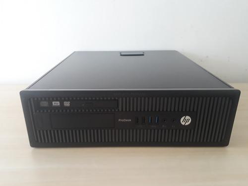 Imagem 1 de 8 de Cpu Hp Prodesk 600 G1 - I3 4150 - 8gb - Hd 1tb - Win 10