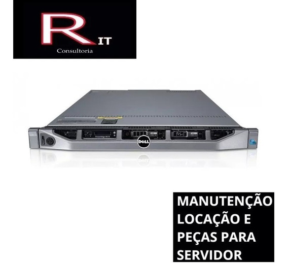 Servidor Dell R610 2 Six-core X5650 64gb C/ 2 Entrada Sfp+