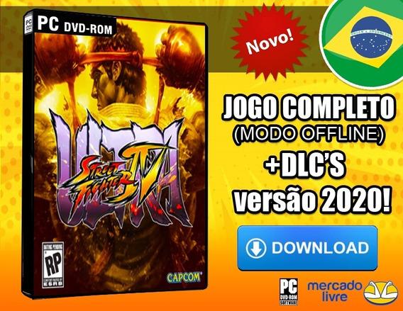 Street Fighter 4 (iv) + Dlcs - Pc Português-br Digital