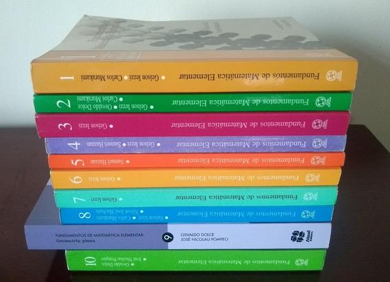 Fundamentos De Matemática Elementar Iezzi (1,2,3,5,6,7,8,10)