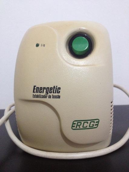 Estabilizador De Tensão Rcg Energetic - 300va/127v