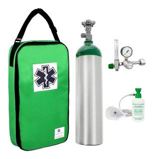 Kit Oxigênio Centercor 3l Sem Carga Verde