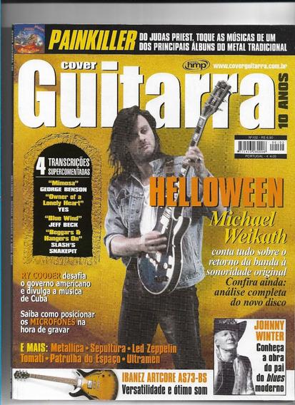 Cover Guitarra 102 Revista Helloween