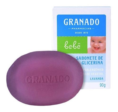 Sabonete Infantil Granado Lavanda 90g - Caixa Com 6 Uni