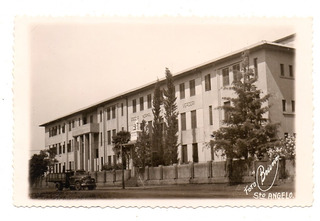 Cartao Postal Escola Normal - Santo Angelo - Rs - Anos 50