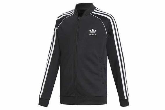 Chaqueta Adidas negra clásica Chicfy