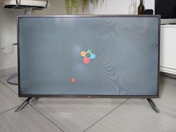 Smart Tv Lg 42lb6500 (lcd Quebrado)