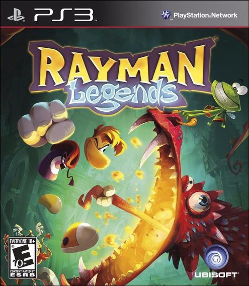 Ps3 Rayman Legends Psn Português Dublado Jogo
