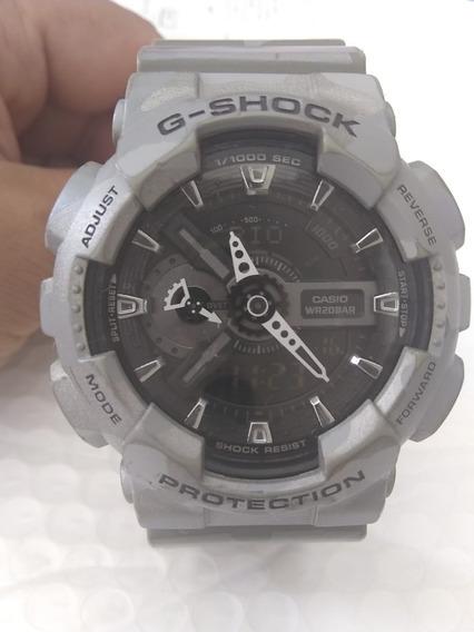 Relógio Gshok Camuflado Original Modelo Gm-110cm