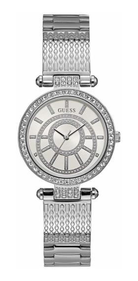 Relógio Guess Analógico Feminino 92666l0gdna1 W1008l1 Prata