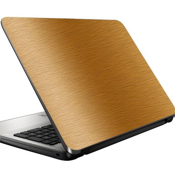 Adesivo Skin Película Proteção Aço Escovado Notebook Netbook
