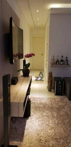 Apartamento Com 2 Dormitórios À Venda, 65 M² Por R$ 479.000,00 - Condomínio Villa Bella - Paulínia/sp - Ap6554