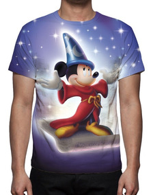 Camisa, Camiseta Disney Mickey Mouse - Estampa Total