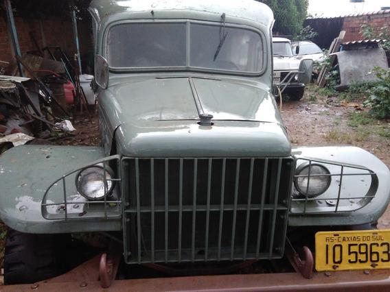 Veiculo Militar 4x4 (ambulância) Dodge Wc-54, Ano 1942