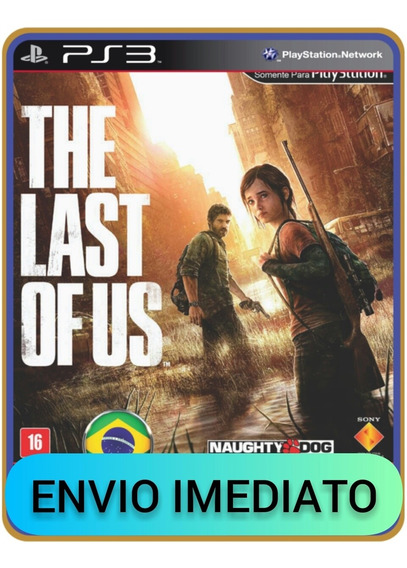 The Last Of Us Português Ps3, Psn, Mídia Digital Completo