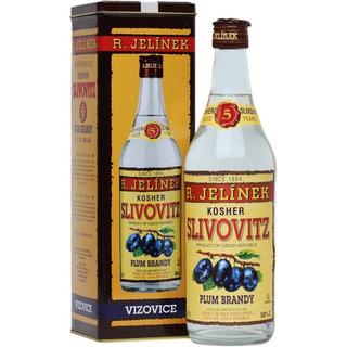 Brandy Slivovitz Kosher Silver 5 Años C/lata Republica Checa