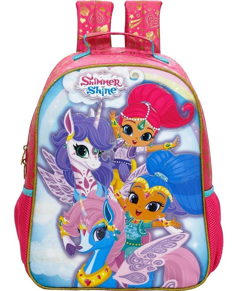 Mochila 16 Shimmer & Shine Unicorn 8002 Original