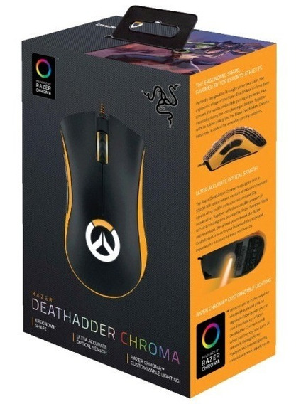 Mouse Gaming Razer Deathadder Chroma Overwatch Envio Imediat