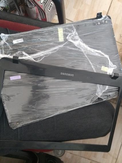 Carcaça Notebook Samsung Parte Da Tela +moldura Np270
