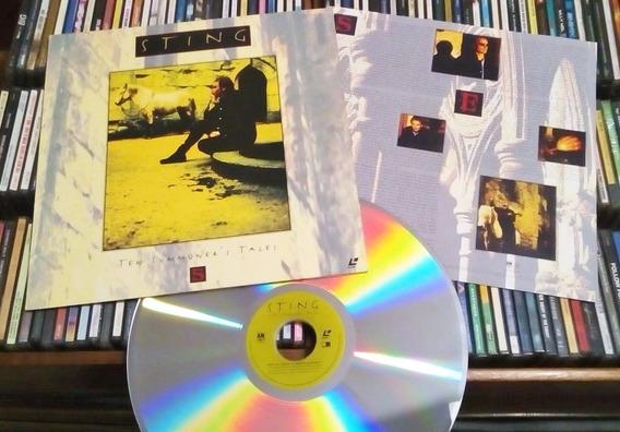 Sting Ten Summoners Tales Laser Disc
